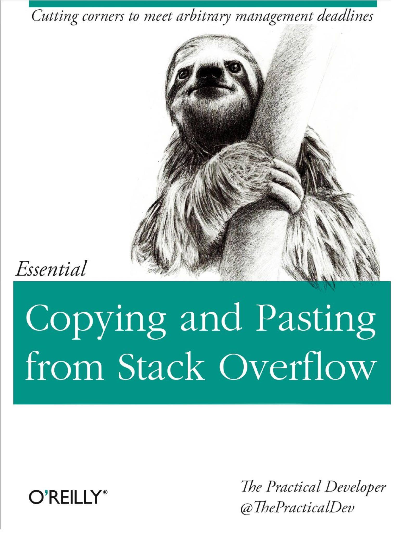 The Practical Dev - Copying And Pasting From SO